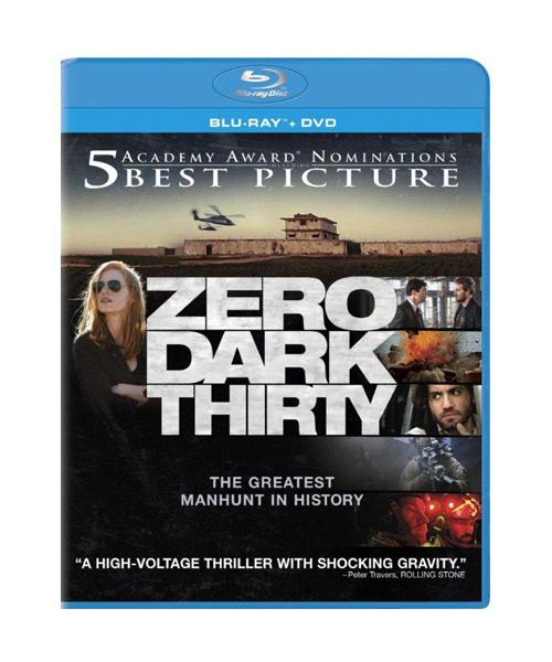 Zero Dark Thirty - Blu-ray + DVD + Ultra Violet 36A-G30-COLBR42377