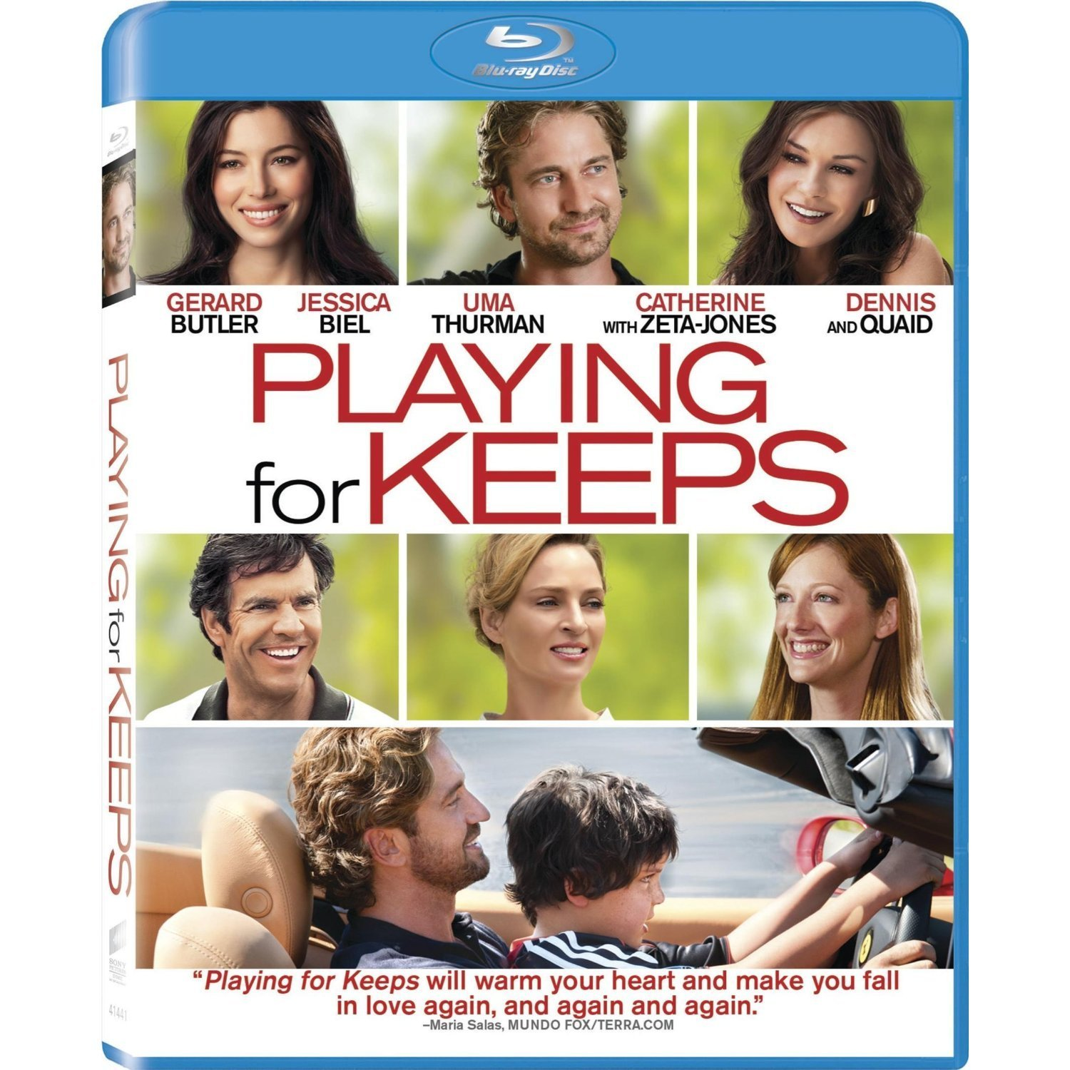 Playing For Keeps - Blu-ray 36C-G30-COLBR41441