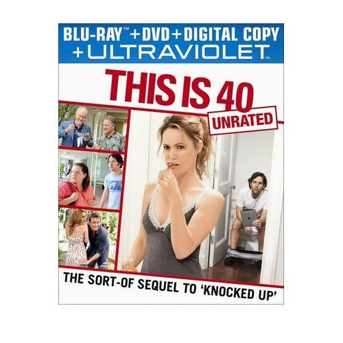 This Is 40 - Blu-ray + DVD + Digital Copy + UltraViolet 36C-G30-MCABR6111981