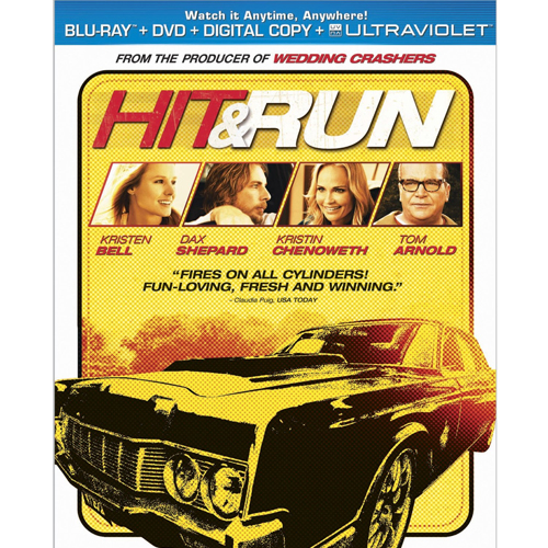 Hit & Run - Blu-ray + DVD + Digital Copy + Ultraviolet 36C-G30-MCABR6112346