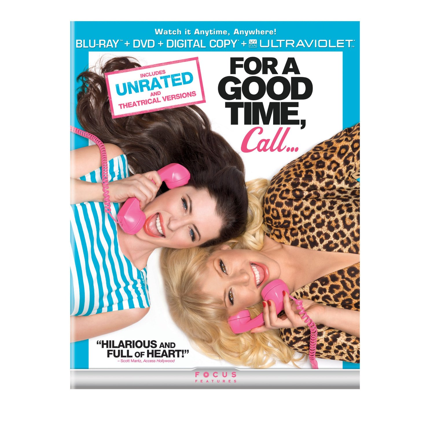For a Good Time Call - Blu-ray + Ultraviolet Digital Copy 36C-G30-MCABR6212371