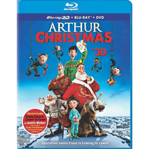 Arthur Christmas - Blu-Ray 3D + Blu -Ray + DVD 36G-G30-COLBR40974