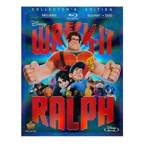 Wreck-it Ralph - / Blu-ray / DVD 36G-G30-DISBR111090