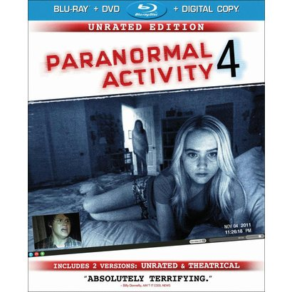 Paranormal Activity 4 - Blu-ray + DVD + Digital Copy / Widescreen / Rated & Unrated 36H-G30-PARBR136454