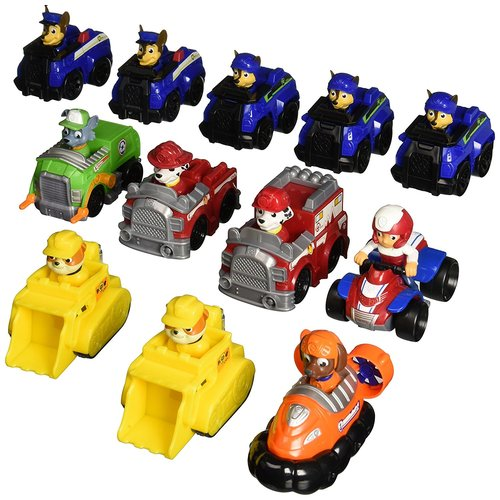Paw Patrol Rescue Racer Toy Assortment 12K-P94-6024651