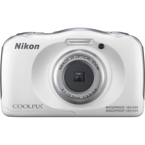 Nikon COOLPIXW100W / 13.1 Megapixel / 3x Optical Zoom Digital Camera - Blue