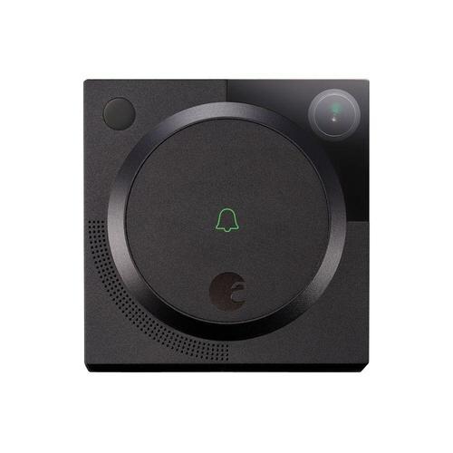 August 1.2MP Wireless Doorbell Camera - Dark Gray
