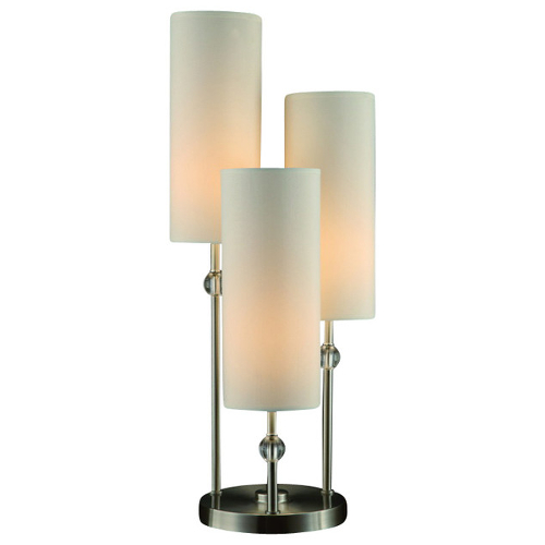 Crestview Bolivar 3 Arm Table Lamp