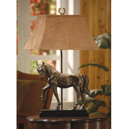 Crestview Horse Creek Table Lamp - Bronze