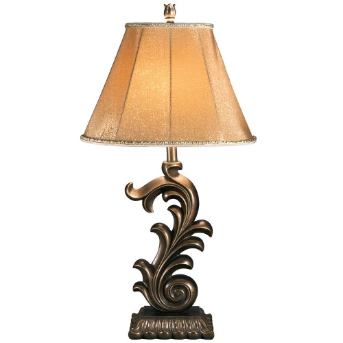 Ashley Eliza Bronze Poly Table Lamp - Set of 2
