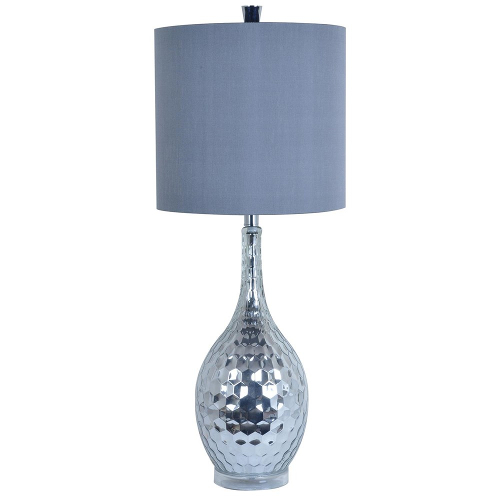 Crestview Zurich Table Lamp - Chrome