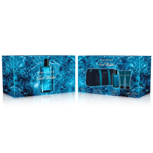 EAN 3614224935672 product image for Davidoff Cool Water Men's 4 Piece Gift Set | upcitemdb.com