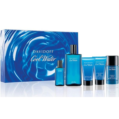 Davidoff Cool Water for Men 5 Piece Set 21B-H32-46535019000