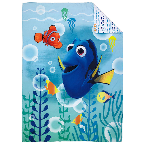Disney Finding Dory Bubbles 4 Piece Toddler Bedding Set 46B-J42-6555416