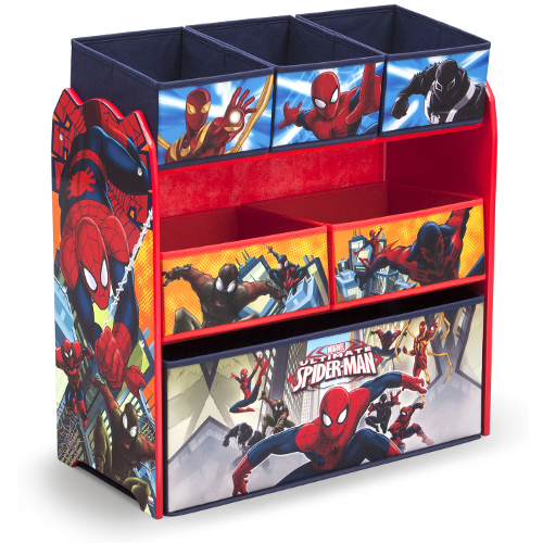 Delta Children Spider-Man Multi-Bin Toy Organizer 46C-G56-TB83226SM