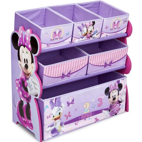 Delta Disney Minnie Multi-Bin Toy Organizer 46O-G56-TB84848MN
