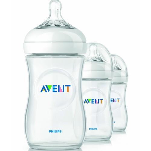 Philips Avent Natural Bottles 9 oz. - 3 Pk. 46F-H81-SCF693/37
