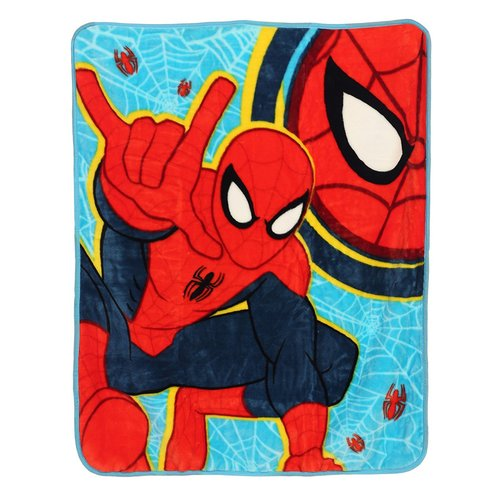 Marvel Spider-man Royal Plush Toddler Blankets 46I-O36-MUT/0331