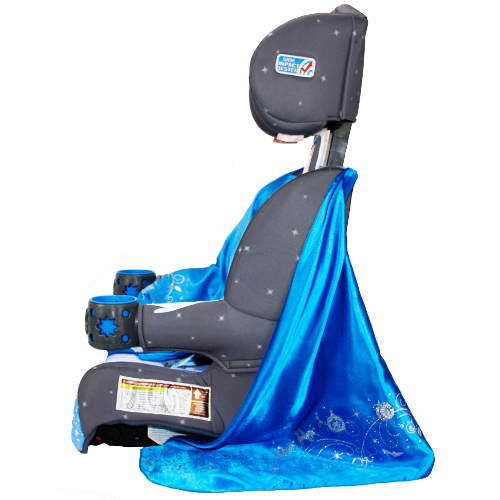 KidsEmbrace Friendship Combination Booster Car Seat - Cinderella Platinum 46R-Q94-3001CIN