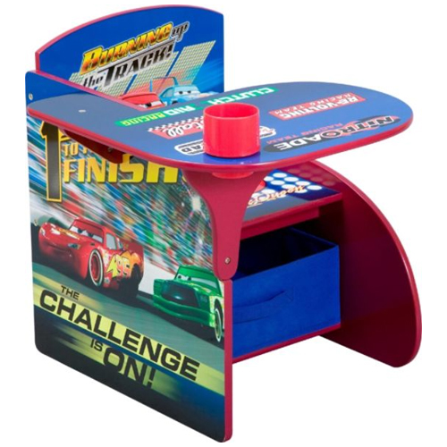 Delta Children's Disney Cars Chair Desk with Storage Bin 46O-G56-TC83948CR