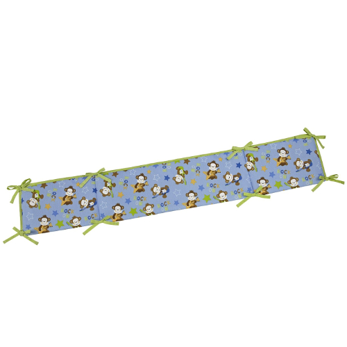 Little Bedding Born to Rock Traditional 4-Sided Bumper 46B-J42-6401002