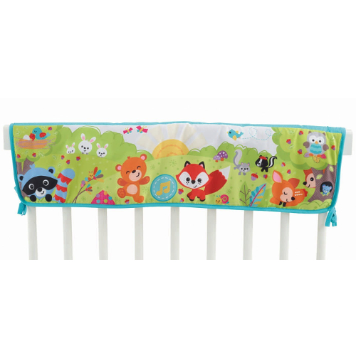 Fisher-Price Woodland Friends Twinkling Lights Crib Rail Soother 46A-797-CDN49