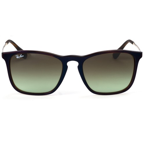 Ray-Ban RB4187 Chris Square Sunglasses - Trasparent Brown sp Blue / Green Gradient Brown 67R-G65-RB4187631554
