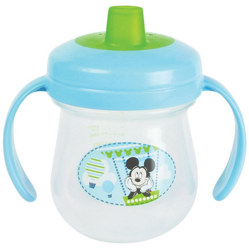 The First Years Disney 7 oz. Soft Spout Trainer Cup with Handles - Mickey Mouse 46F-P84-Y10177