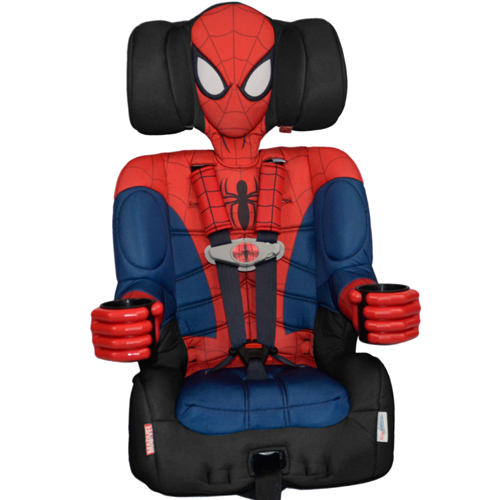 Kids Embrace Harness Booster Car Seat - Spiderman 46R-Q94-40000SPD