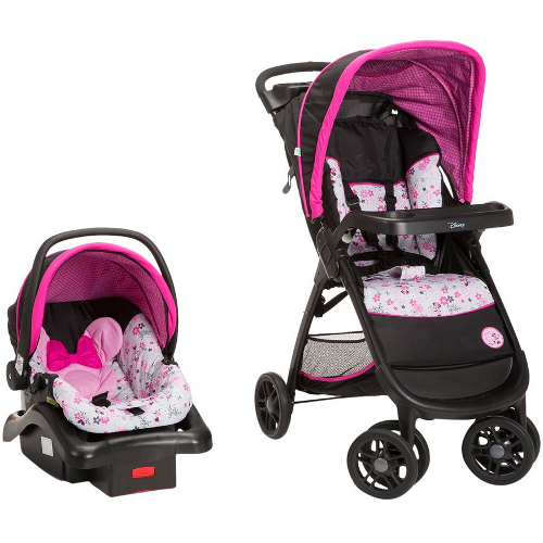 Safety 1st Amble Quad Travel System - Garden Delight Minnie