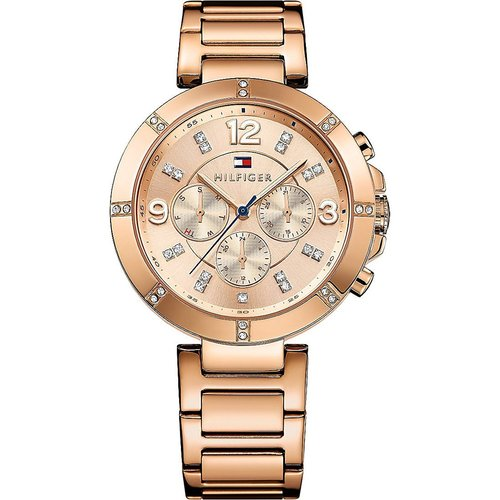 Tommy Hilfiger Women's Cary Damen Multi-Functional Rose Gold Dial Watch - Rose Gold 60T-Q36-1781533
