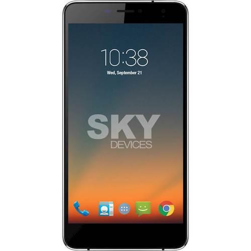 Sky Devices SKYELITE6.0L Unlocked Smartphones 6 / 1GB RAM / 8GB HDD / 1.3 GHz MediaTek MT6735 Cortex-A53 Processor - Dark Grey/Black