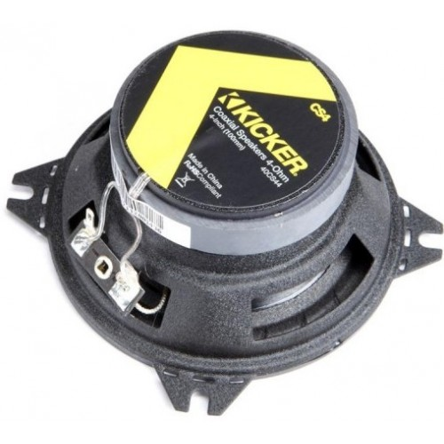 Kicker 40CS44 4quot 2 Way CS Series Coaxial Speakers