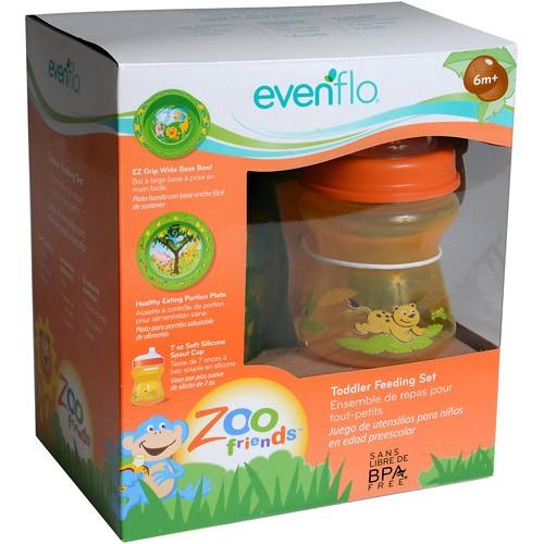 Evenflo Zoo Friends Toddler Feeding Set 46F-721-1331411