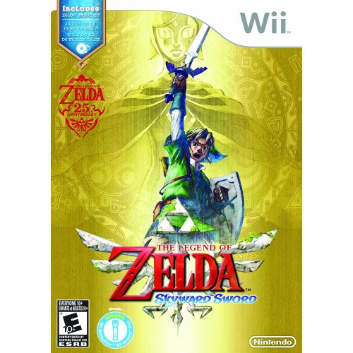 The Legend of Zelda: Skyward Sword - Nintendo Wii 08B-G58-RVLQSOUE