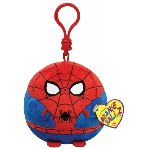 Ty Beanie Ballz Clip on Plush - Spider-Man 12P-DOE-38331