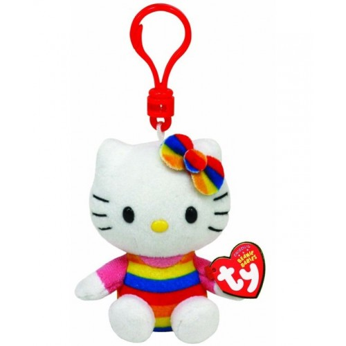 Ty Beanie Babies Clip - Hello Kitty Cupcake 12P-DOE-40957