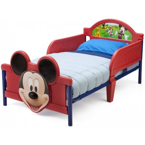 Delta Mickey Mouse 3D Toddler Bed 46C-G56-BB87187MM