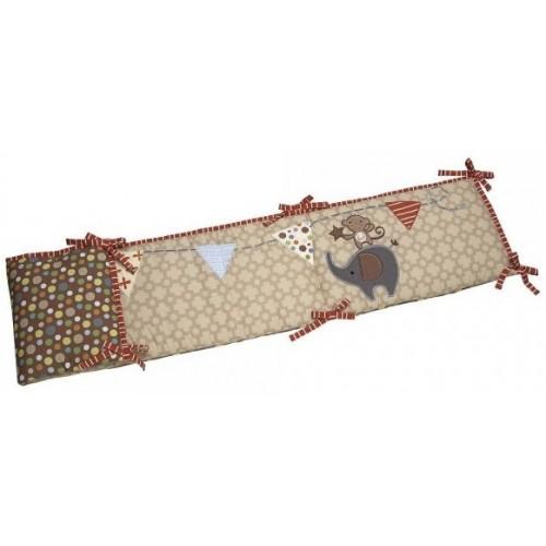 Nojo Amazing Animals 4-Piece Crib Bumper 46B-J42-8340002