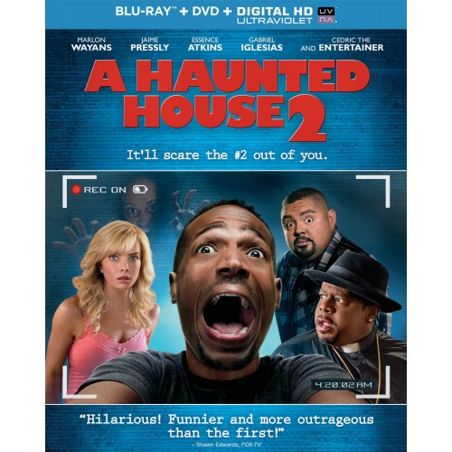 A Haunted House 2 - Blu-ray + DVD + Digital HD Ultraviolet 36H-G30-MCABR6112973