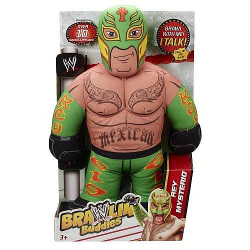 Mattel WWE Brawlin' Buddies Plush Figure - Rey Mysterio 12K-766-W8014