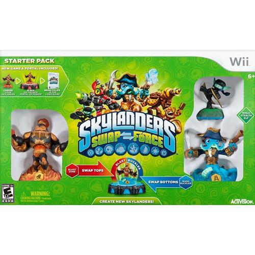 Skylanders Swap Force Starter Kit - Nintendo Wii 08B-G58-84711