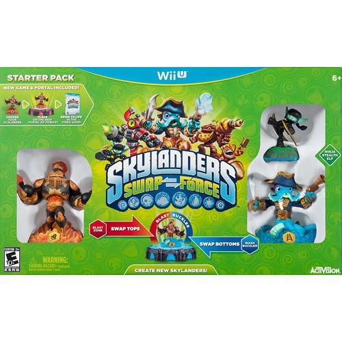 Skylanders Swap Force Starter Kit - Nintendo Wii U 08B-G58-84716