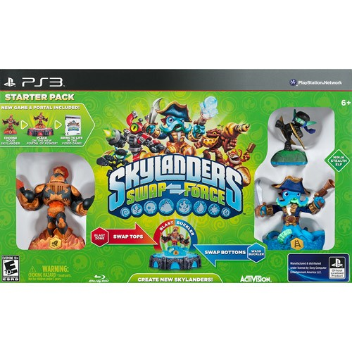 Skylanders Swap Force Starter Kit - PlayStation 3 08L-G58-84695
