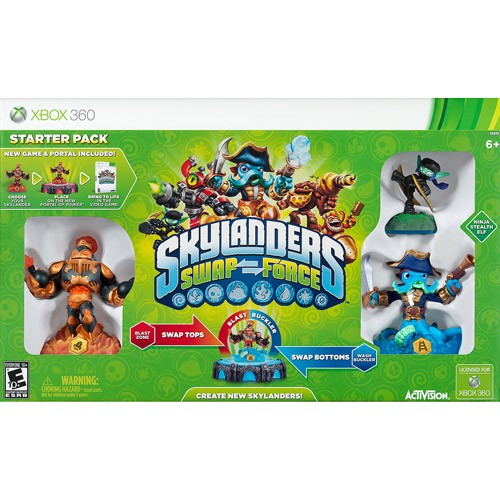 Skylanders Swap Force Starter Kit - Xbox 360 08P-G58-84704