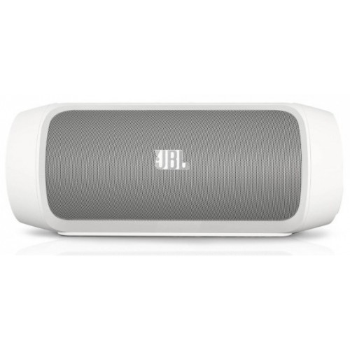 JBL Charge 2 Wireless Bluetooth Speaker with Mic - White