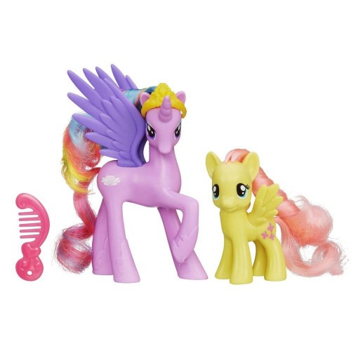 Hasbro My Little Pony Princess Sterling and Fluttershy Figures 12D-R30-HLPA2004C