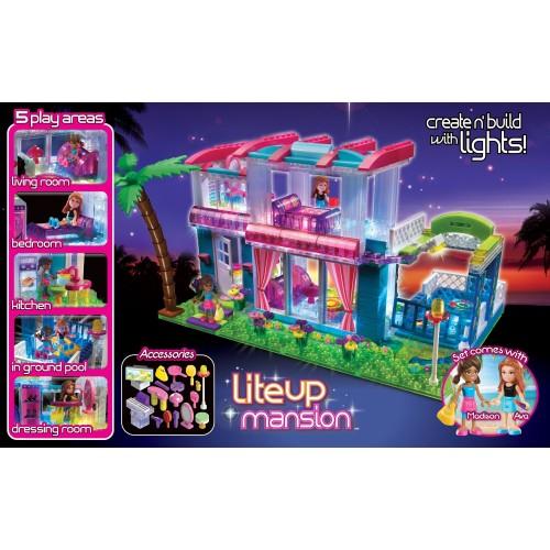 UPC 884920357037 - Cra-Z-Art Lite Brix(tm) Light Up Mansion ...