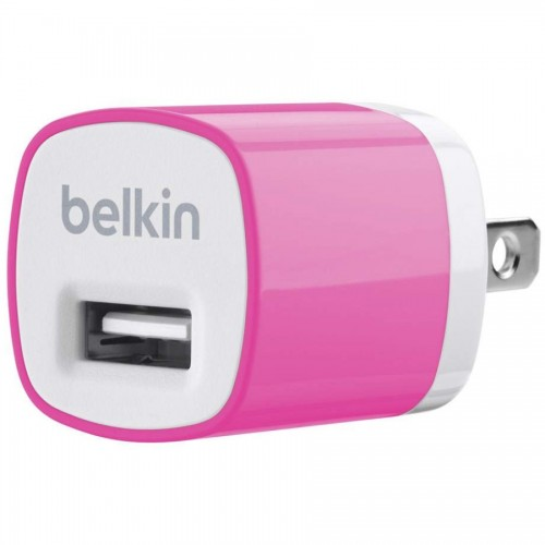 Belkin Mixit 1 Amp Home Charger - Pink