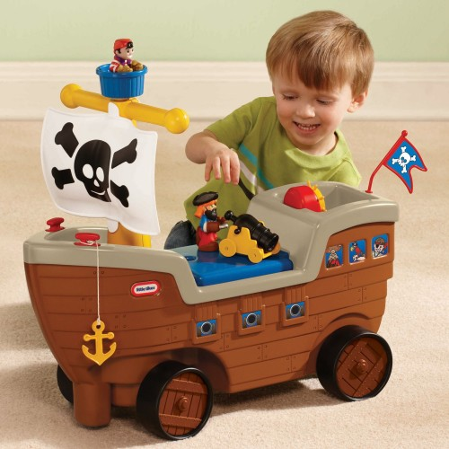 Little Tikes Play 'n Scoot Pirate Ship 12O-641-622113M